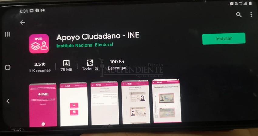 Acusan aspirantes independientes de ineficiente a la App del INE para recolección de firmas