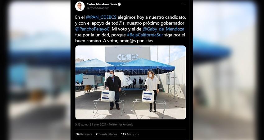 Giran medidas cautelares contra promoción política del gobernador Mendoza