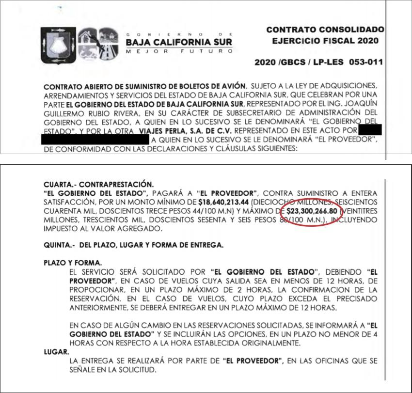 Entre Viajes Perla y Gobierno del Estado hay una liga de corrupción: Delgado Carrillo