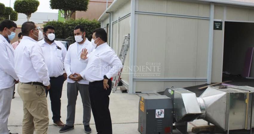 Extensión de la clínica 26 del IMSS, en CSL, contará con 40 camas