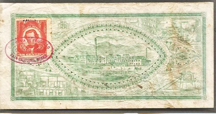Un billete emitido en El Triunfo es probablemente el primero que existió en la península