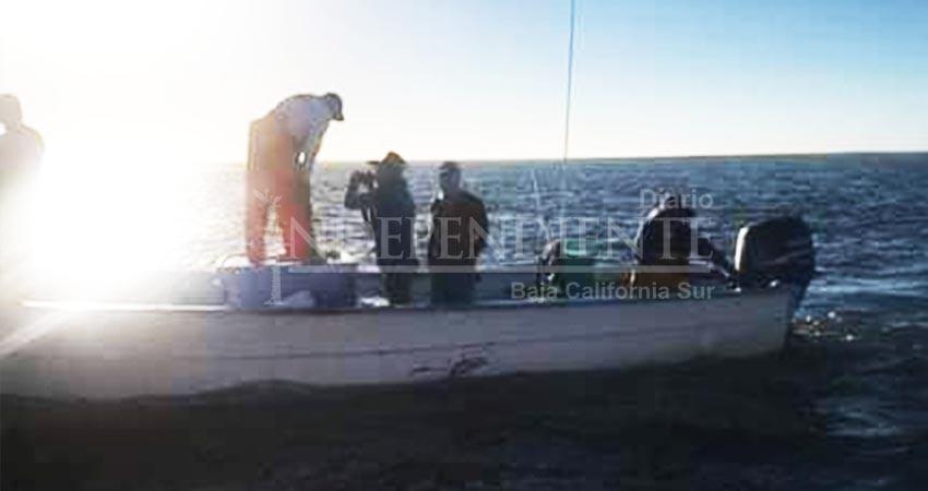 Naufragan pescadores en Comondú