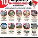LAS 10 MEJORES UNIVERSIDADES EN AMERICA LATINA