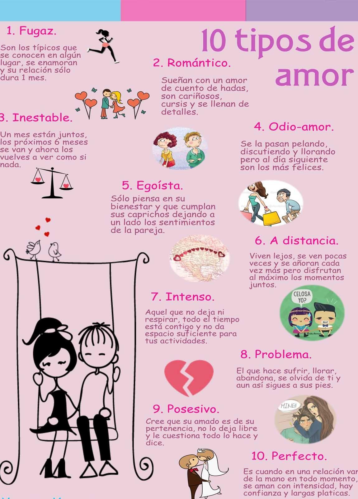 10 TIPOS DE AMOR