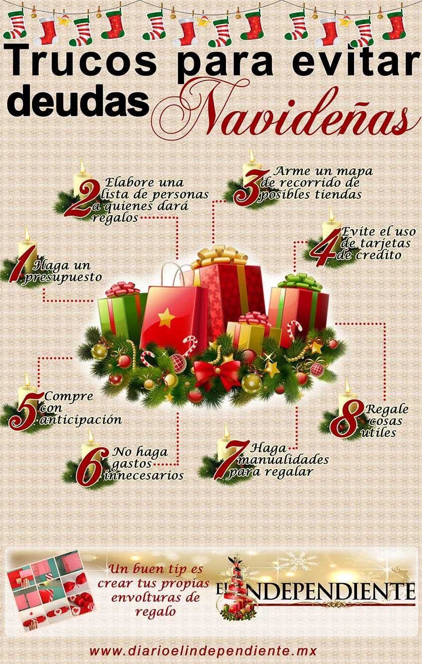Trucos para evitar deudas en navidad