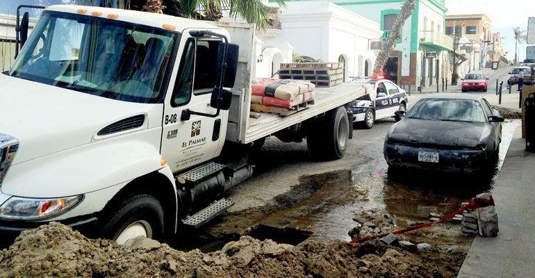 Urgen restauranteros atender fallas técnicas de la pavimentación en el Centro Histórico de SJC