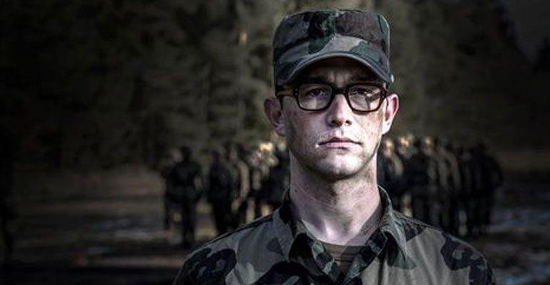 Revelan imágenes de Gordon-Levitt como Edward Snowden