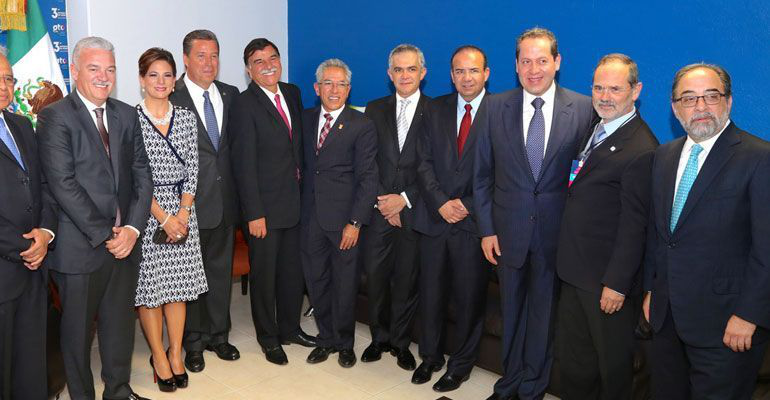 Atestiguó MCV el tercer Informe de gobernador de Guanajuato