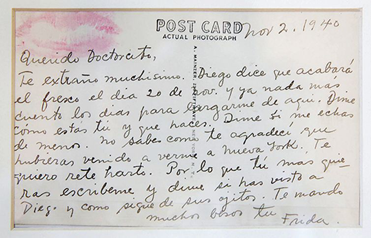 Exponen Cartas E Imágenes De Frida Kahlo Diario El Independiente