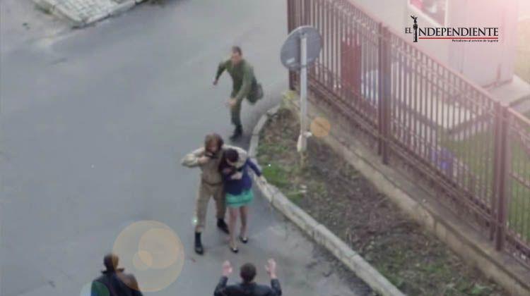 Soldado detiene un secuestro y descubre que era para una película