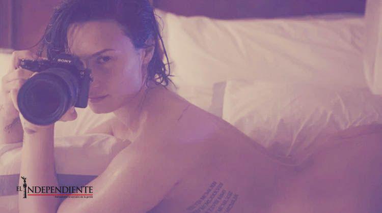 Demi Lovato se desnuda para 'Vanity Fair'