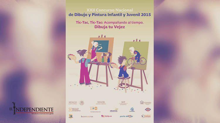 """Invitan al  """"XXII Concurso Nacional de Dibujo y Pintura Infantil y Juvenil 2015"""""""