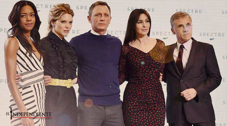 Estar en 'Spectre', un sueño para el elenco de 'James Bond'