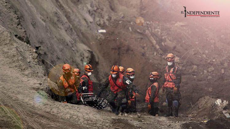 Suman 161 muertos por deslave en Guatemala