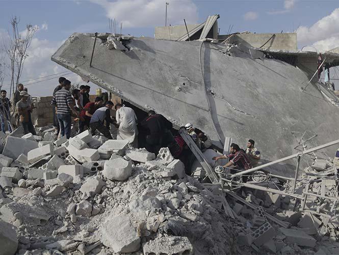 Rusia destruye 27 objetivos del Estado Islámico en Siria