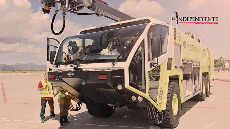 Aeropuerto Internacional de Los Cabos adquiere vehículo de última tecnología por más de 16 mdp