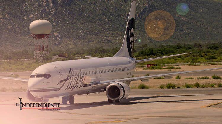 Cuatro veces a la semana arribará vuelo de Alaska Airlines desde Orange County