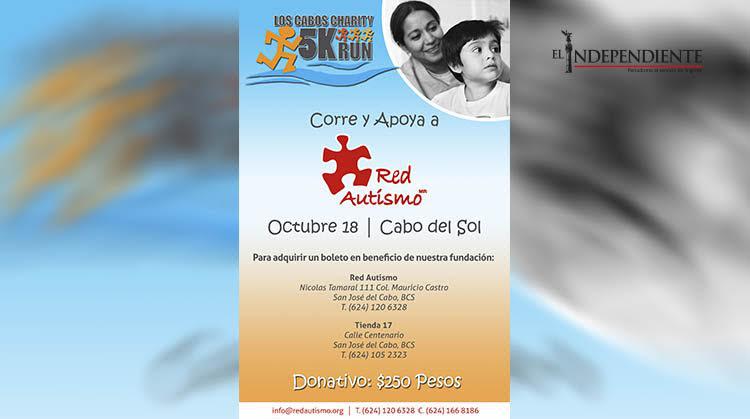 Red Autismo invita a la ciudadanía a apoyarlos en el 5K Los Cabos Charity Run 2015