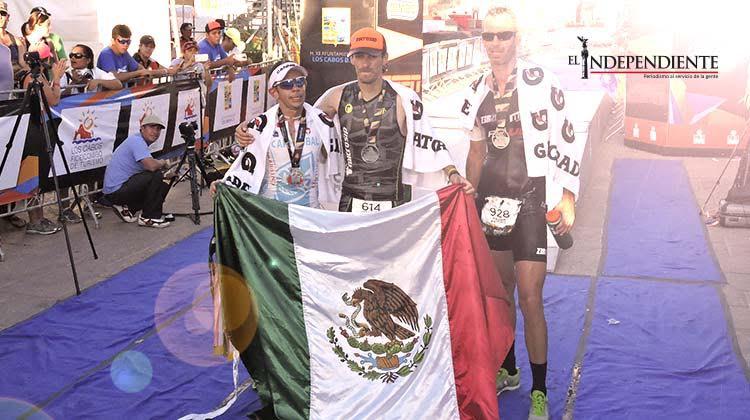 Mexicanos se coronan en Ironman Los Cabos 2015 y Ironman Los Cabos 70.3