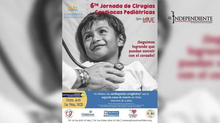 LCCF realizará 6ta jornada de cirugías cardíacas pediátricas