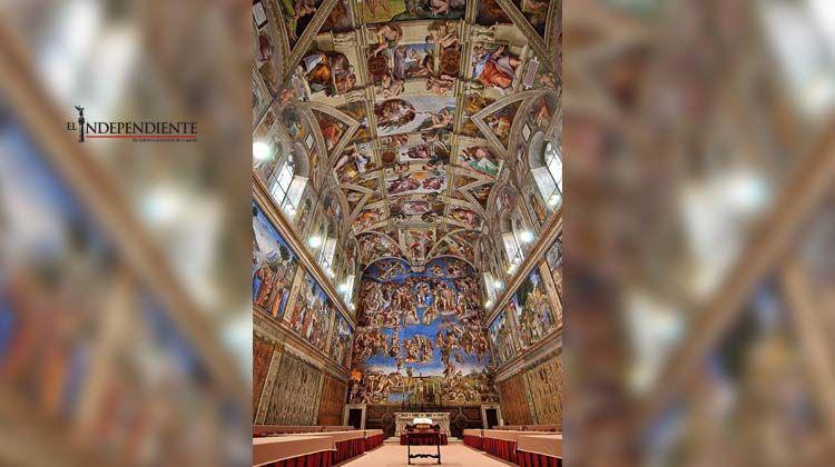 Instalarán una copia de la capilla Sixtina en el zócalo capitalino