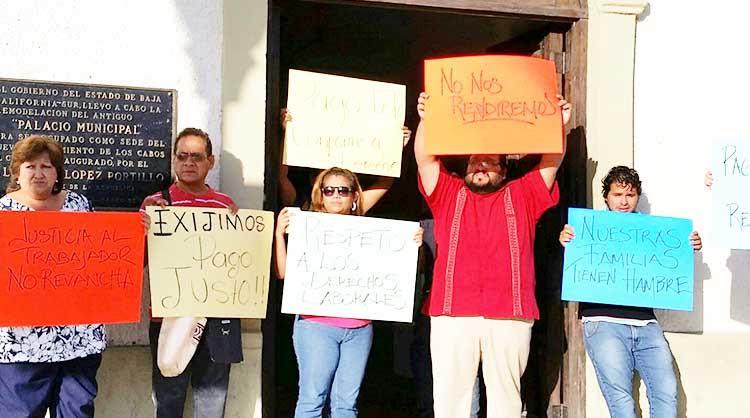 Negociaron… ex trabajadores del Ayto de Los Cabos aceptaron el 65 % de pago por liquidación