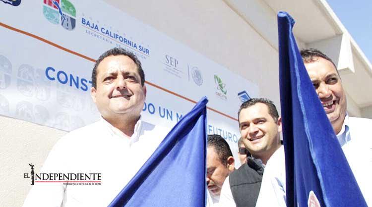 Inauguró CMD obras de infraestructura educativa y urbana en Comondú