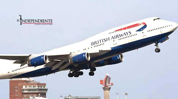 Queman con láser ojo de copiloto británico mientras aterrizaba