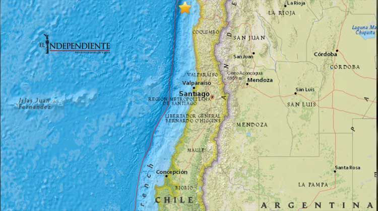 Fuerte temblor remece norte de Chile