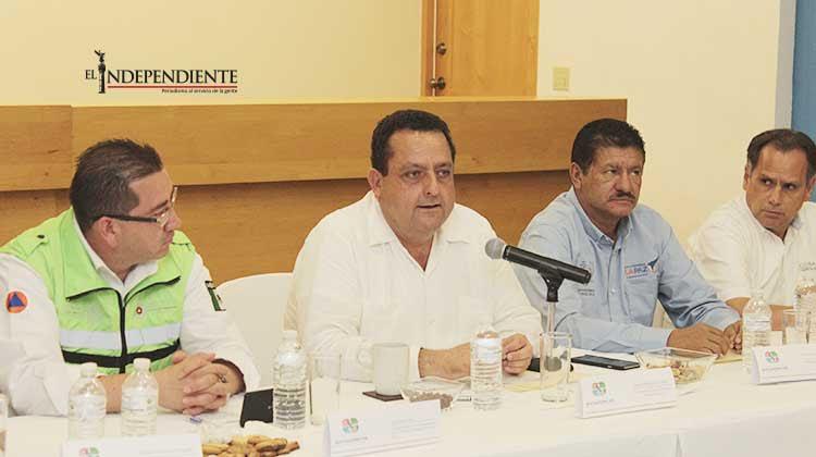 Atentos los tres niveles de gobierno a la trayectoria de la tormenta tropical Sandra: CMD