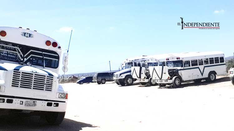 Confirma delegación la entrada en operación de una nueva ruta de transporte