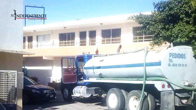 Obliga OOMSAPAS a los piperos a entregar agua limpia para evitar el dengue y Chikungunya