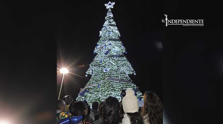 Encienden el árbol de la esperanza en Los Cabos