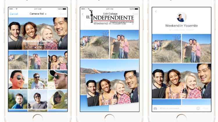 Facebook cambia la forma de compartir experiencias con nuevas funciones