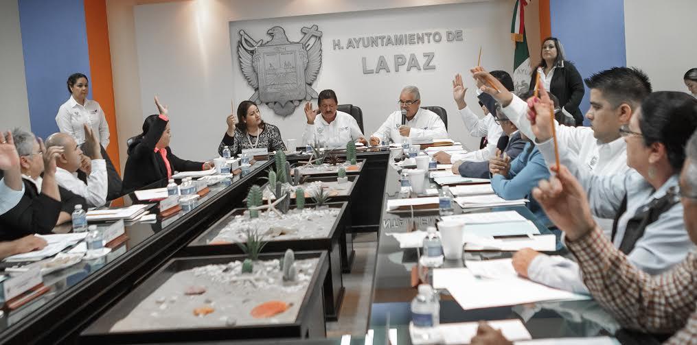 Con 4 votos en contra, aprueban primera cuenta pública del XX Ayuntamiento de La Paz