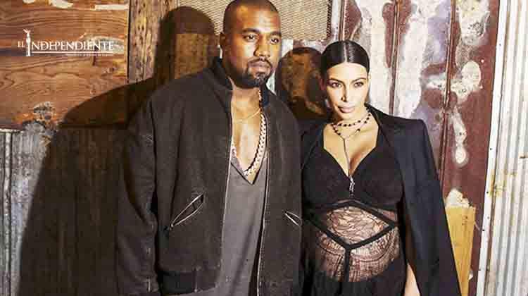 El hijo de Kim Kardashian y Kanye West se llamará Saint