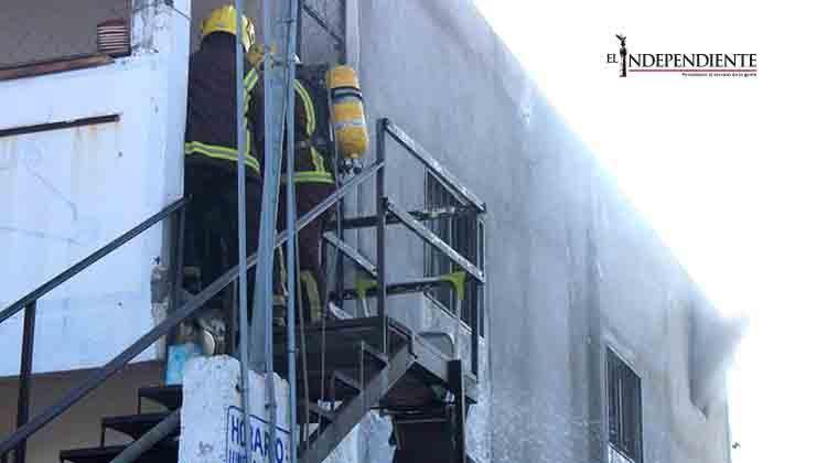 Otro incendio… Con sus moradores ausentes, se incendió un departamento en SJC