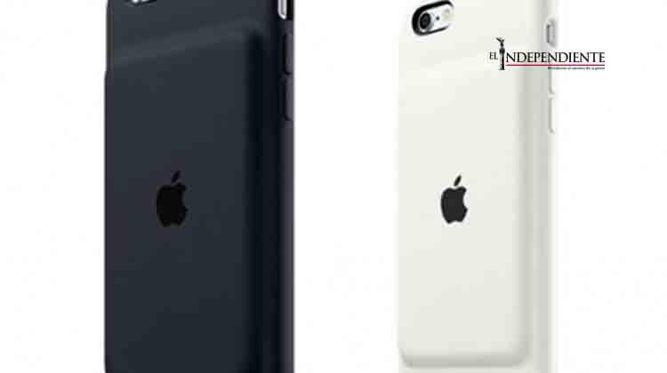 Apple lanza nueva funda con batería para iPhone
