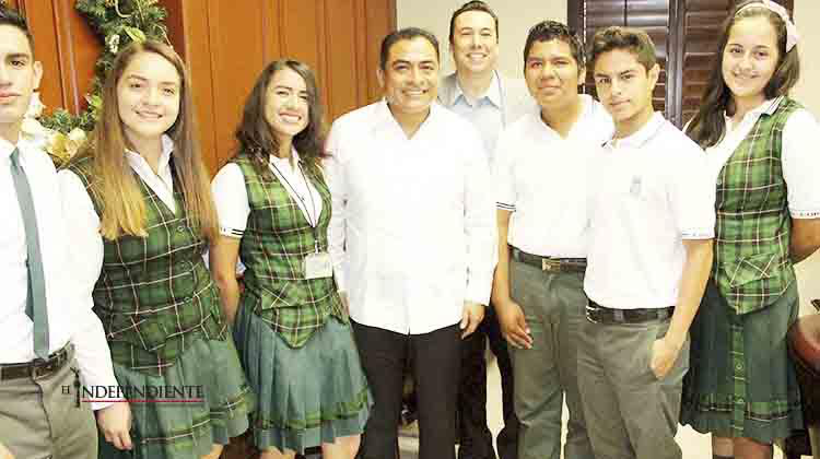 Firma Alcalde convenio con el Cobach para que estudiantes realicen prácticas y servicio social en el Gobierno Municipal