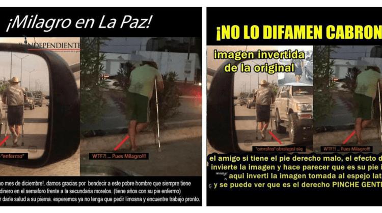 """Causa  polémica entre los ciudadanos la """"discapacidad"""" de una persona en La Paz"""