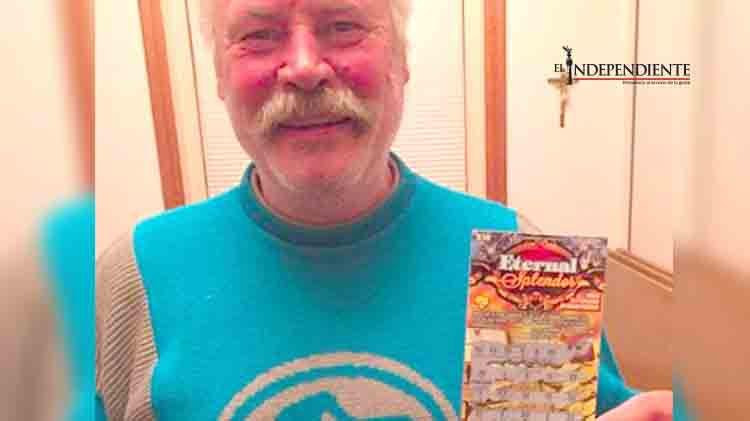Indigente compra boleto de lotería y gana miles de dólares