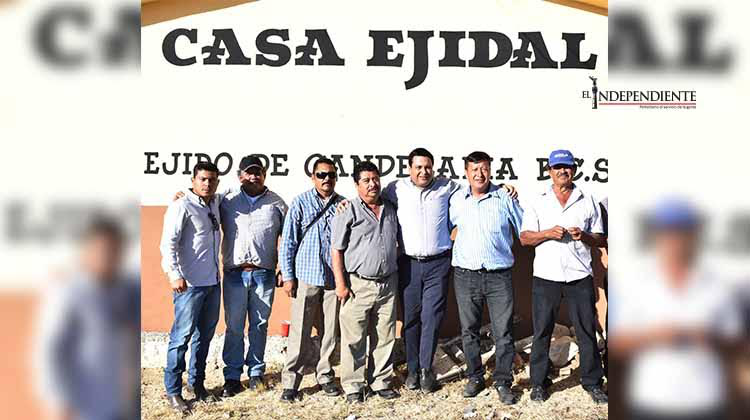 Celebra Ejido de La Candelaria acuerdos con el Gobierno Municipal para el pago de terreno del relleno sanitario