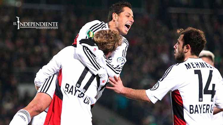 Nadie para a 'Chicharito'; anota en la Copa de Alemania