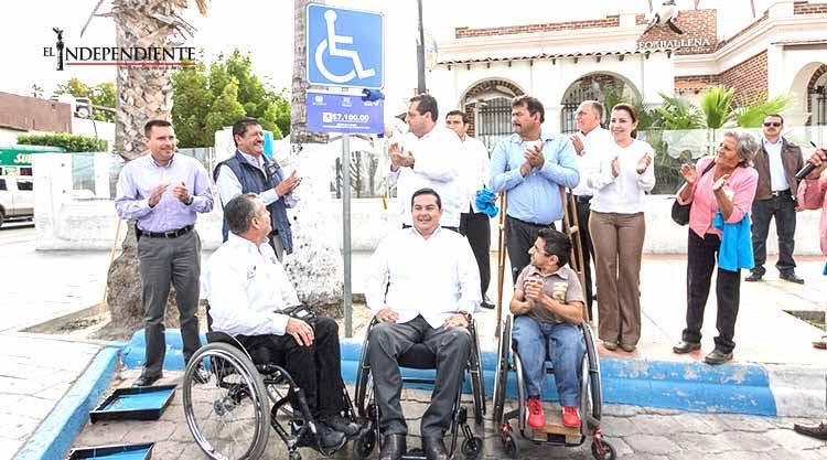 Promueve el Gobierno estatal y municipal condiciones de igualdad para discapacitados