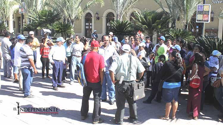 Antorchitas se manifiestarán hoy en explanada del Palacio Municipal