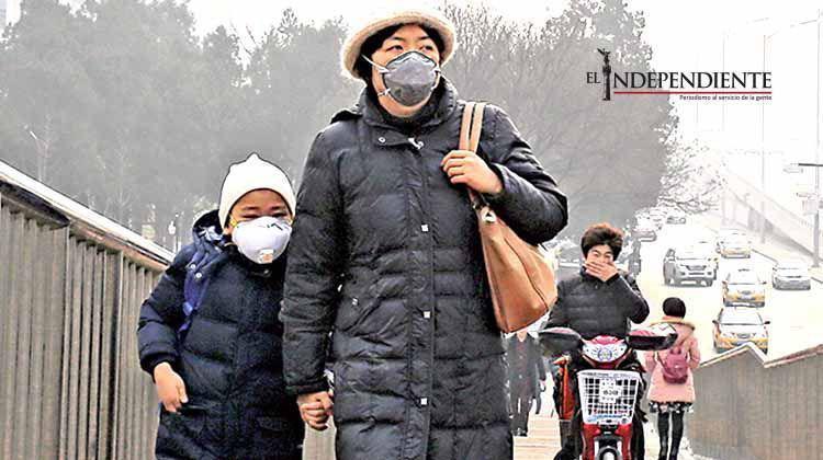 China está bajo una fuerte capa de 'smog'
