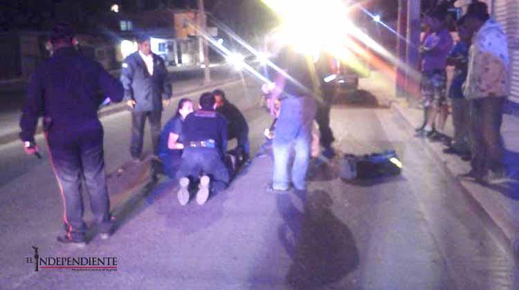 Niño de 9 años es atropellado en calles de CSL