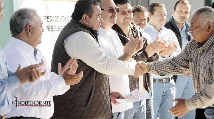 Entregó el Gobierno Estatal apoyos por 2.8 millones de pesos al sector pesquero
