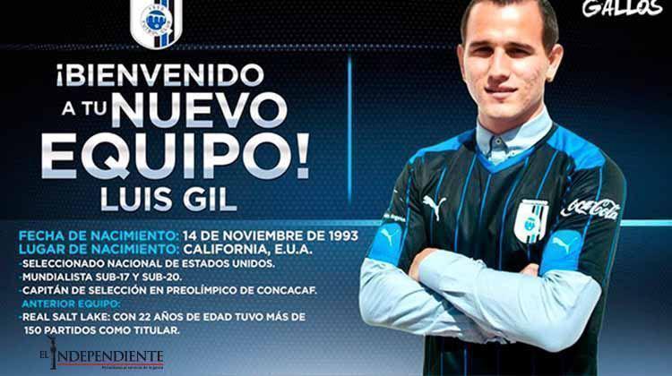 Gallos anuncia la contratación de Luis Gil
