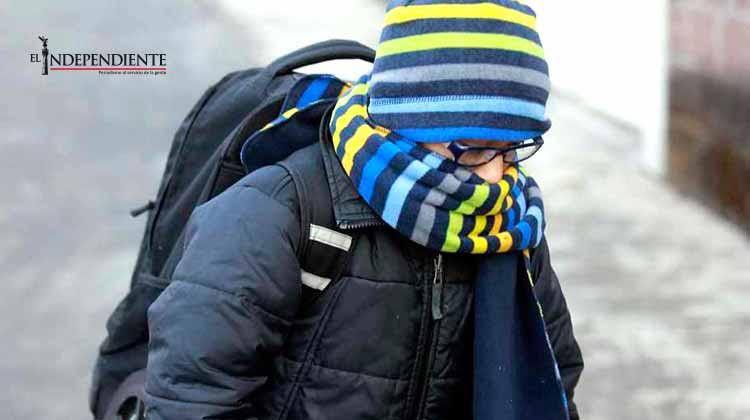 Temperaturas bajas se mantendrán los próximos días, recomiendan evitar cambios de clima